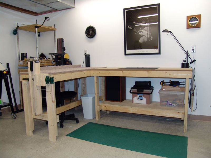 luthier workbench plans